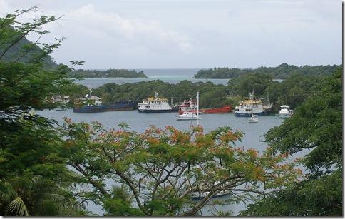 Boats shelter for hurricane