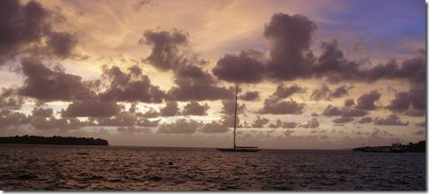 Sunset Port Vila