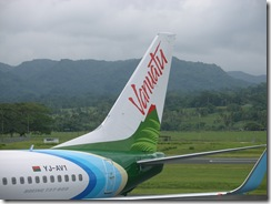 Air Van new plane