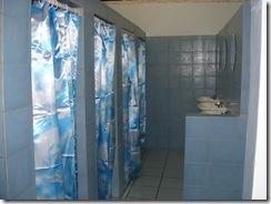 New tiled showers