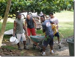 Cement crew