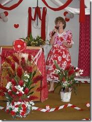 Lori preaching