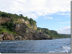 Tanna's northwest coast
