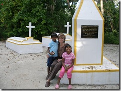 Samoan missionary tombs