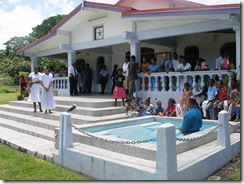 Baptism at Pango