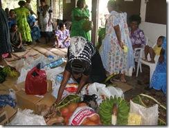Bringing in produce