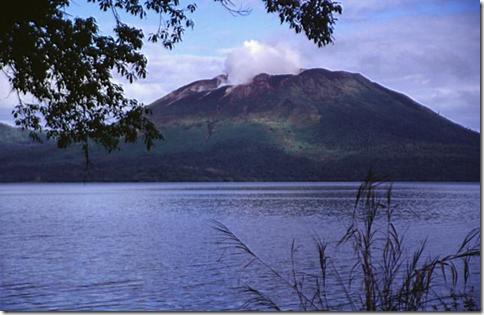 Volcano erupts on Gaua Island, Vanuatu