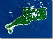 Mota Lava & tiny Rah island off the south coast