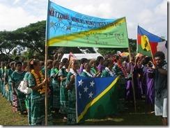AG Solomon Island delegation