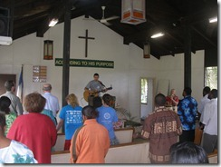 JBI chapel service