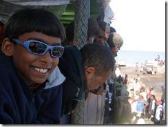 Jeremy on T. Uaraken waiting to sail