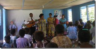 Obas family singing