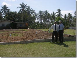 New church building site