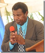 Rev. Russell Bakokoto - JBI Board of Directors