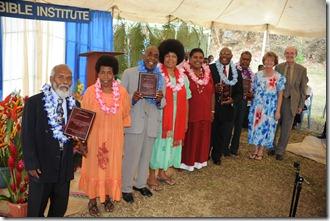 Original Faculty: Rev. Robert Laumai, Rev. Tom Ierongen, Rev. Youen Atnelo, Rev. Willie Naias