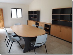 Teacher resource and conference room