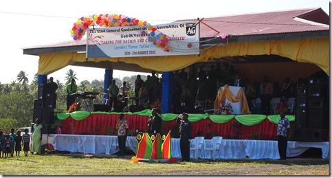 The President of Vanuatu opening speech