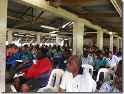 delegates at morning lectures