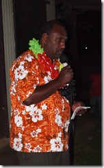 Rev. Kenneth Mamali, Solomon Islands