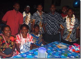 Family from Sara, Santo
