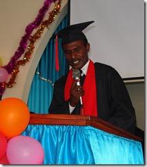 Hosea Katipa, class speaker