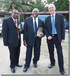 Rev. Mamali, Rev. Atnelo, Rev. Harbour