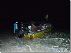 Speedboat taxis