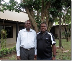 P. Naias on right