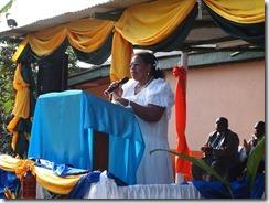 Conf chairlady speech