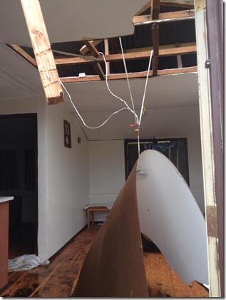 Kiel's house -cyclone Pam