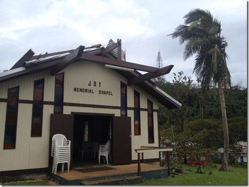 JBI Chapel - cyclone Pam