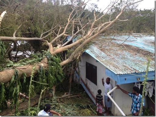 admin flat - cyclone Pam