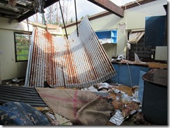 Cyclone damaged girl's dorm