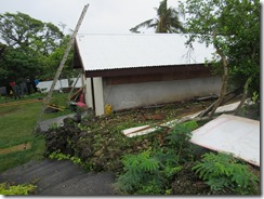 Finishing roof repairs