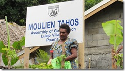 Moulien Tahos AG Church, Lulep. Paama